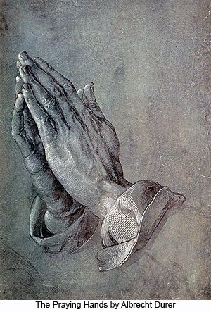 The Praying Hands by Albrecht Durer