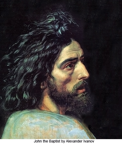 John the Baptist by Alexander ivanov