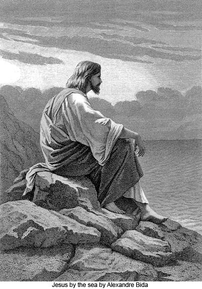 Jesus by the Sea by Alexandre Bida