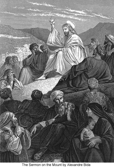 The Sermon on the Mount by Alexandre Bida