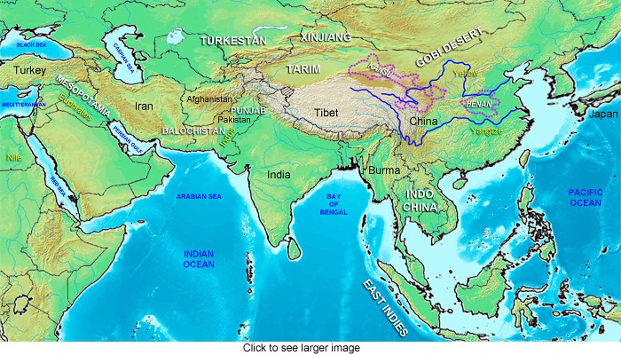 Andite Expansion In The Orient