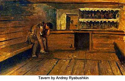 Tavern by Andrey Ryabushkin