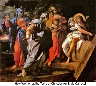 Holy Women at the Tomb of Christ by Annibale Carracci