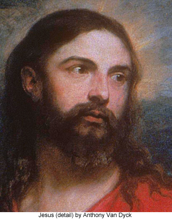 Jesus (detail) by Anthony Van Dyck