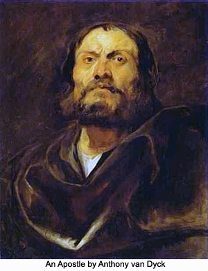 An Apostle by Anthony van Dyck