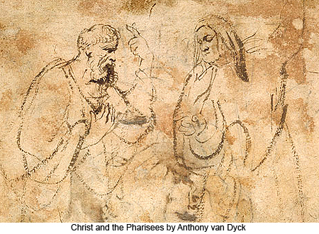 Christ and the Pharisees by Anthony van Dyck
