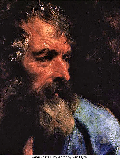 Peter (detail) by Anthony van Dyck