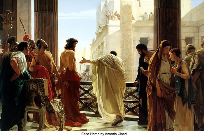 Ecce Homo by Antonio Ciseri