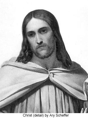 Christus als Verlosser by Ary Scheffer