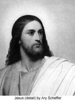 Jesus (detail) by Ari Scheffer