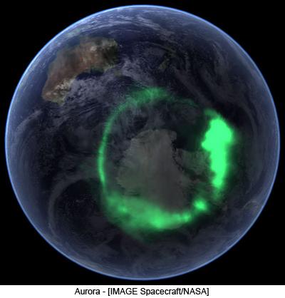 Aurora - [IMAGE Spacecraft/NASA]