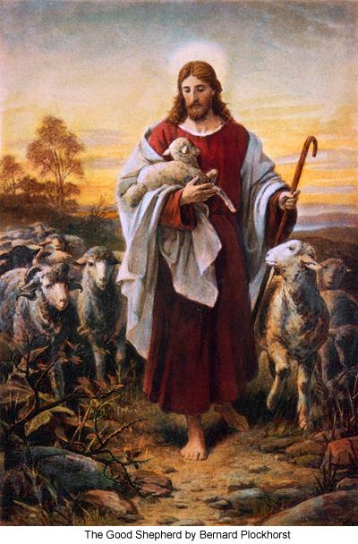 The Good Shepherd by Bernard Plockhorst