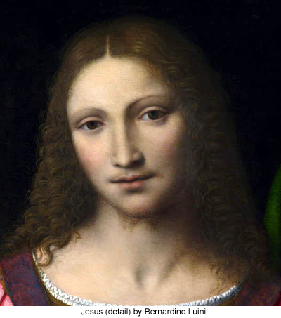 Christ among the Doctors (detail) by Bernardino Luini