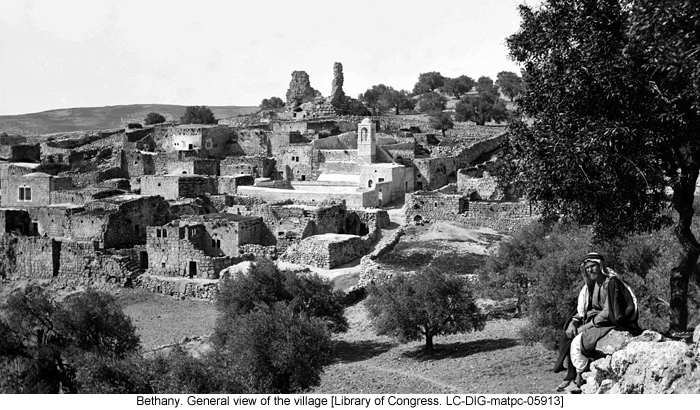 Bethany. General view of the village [Library of Congress. LC-DIG-matpc-05913]