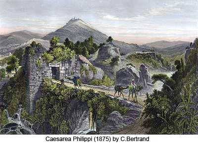 Caesarea Philippi by C. Bertrand
