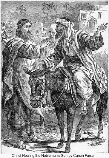 Canon Farrar Christ Healing the Nobleman's Son