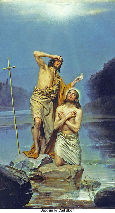 Baptism by Carl Bloch