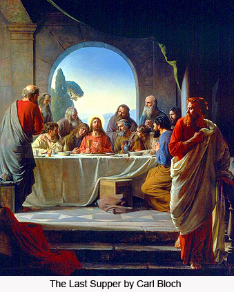 The Last Supper by Carl Bloch