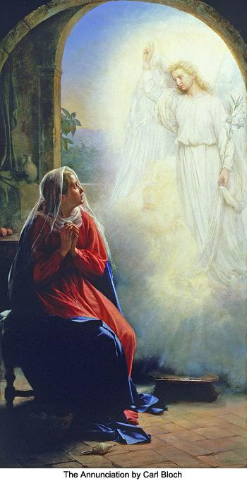 The Annunciation by Carl Bloch