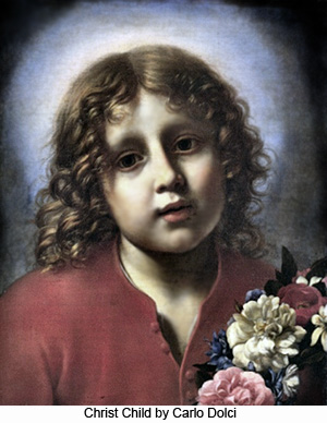 Christ Child by Carlo Dolci