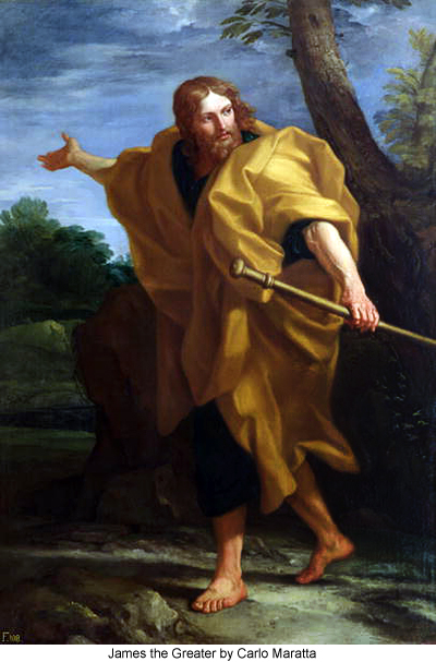 James the Greater by Carlo Maratta
