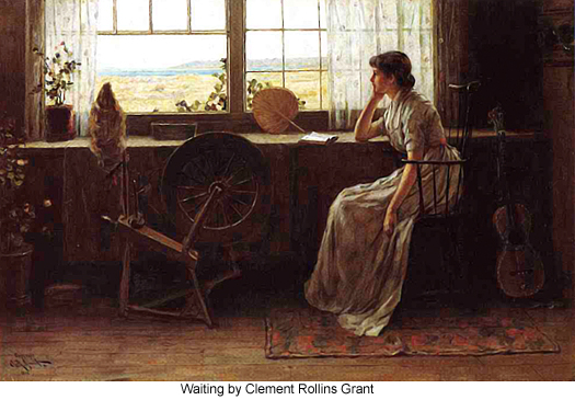 Waiting by Clement Rollins Grant