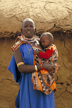 Mother and Child - Kenya