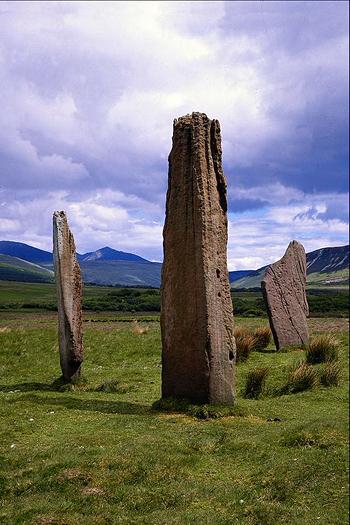 Arran, Machrie Moor Standing Stones, Strathclyde, Scotland