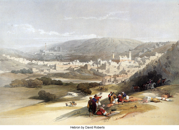 Hebron by David Roberts