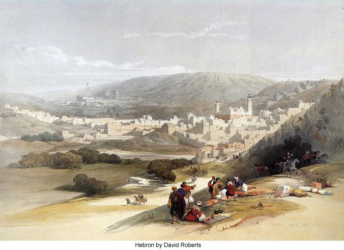 Hebron by David Roberts