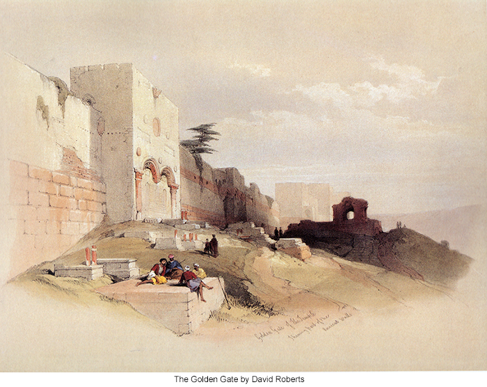 The Golden Gate by David Roberts