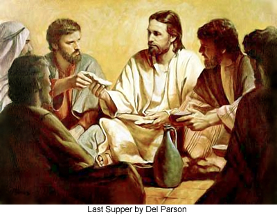 Last Supper by Del Parson