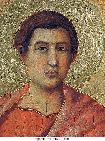 Apostle Philip by Duccio