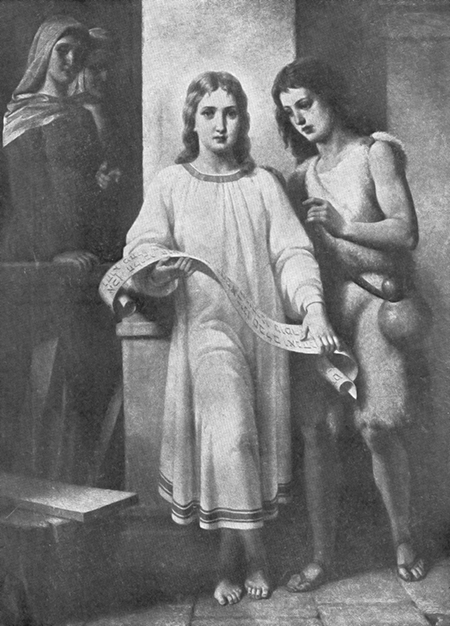 Jesus and John the Baptist and Their Mothers by E. Winterstein