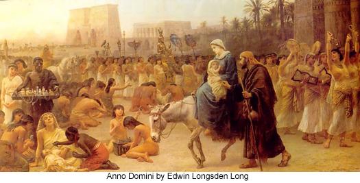 Anno Domini  by Edwin Longsden Long