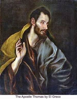 The Apostle Thomas by El Greco