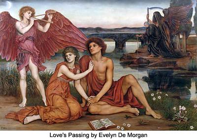 Love's Passing by Evelyn De Morgan