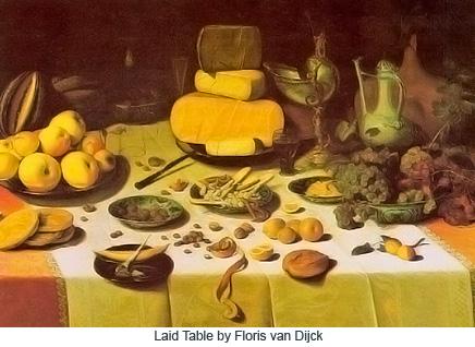 Laid Table by Floris van Dijck