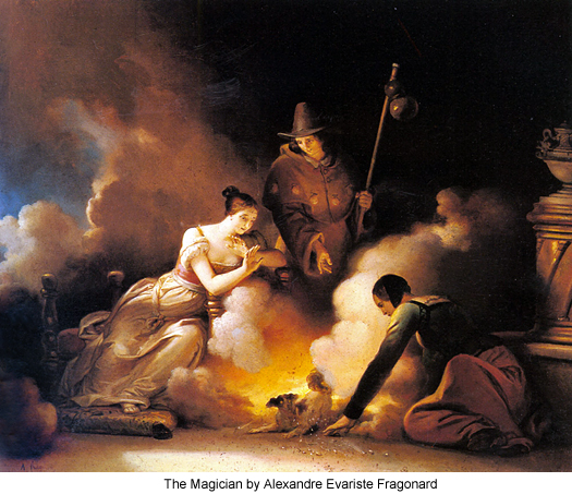 The Magician by Alexandre Evariste Fragonard