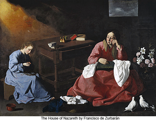 The House of Nazareth by Francisco de Zurbaran