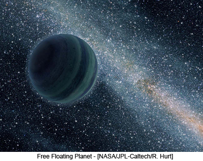 Free Floating Planet - [NASA/JPL-Caltech/R. Hurt]