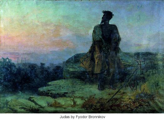Judas by Fyodor Bronnikov