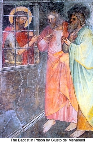 The Baptist in Prison by Giusto de Menabuoi