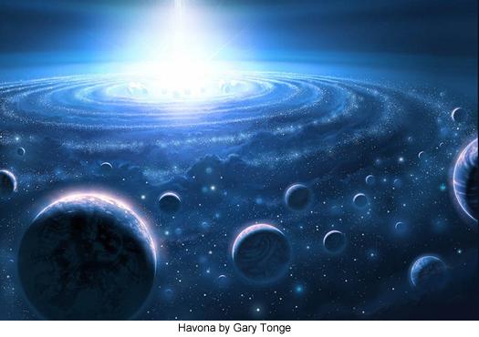 Havona by Gary Tonge
