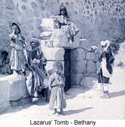 Lazarus Tomb, Bethany