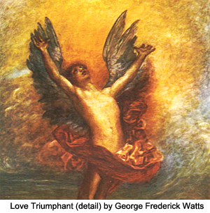 Love Triumphant (detail) by George Frederick Watts