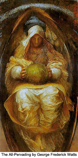 The All-Pervading by George Frederick Watts