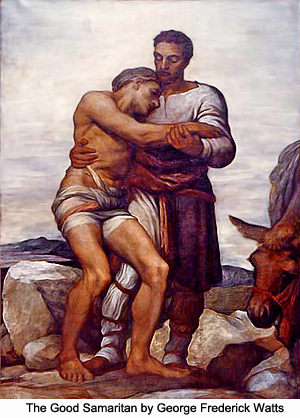 The Good Samaritan by George Frederick Watts