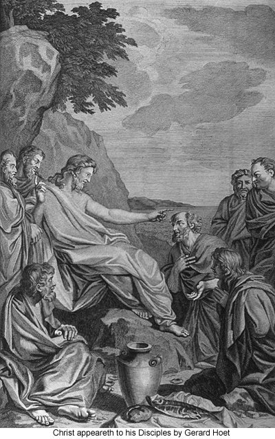 Christ Appeareth to his Disciples by Gerard Hoet