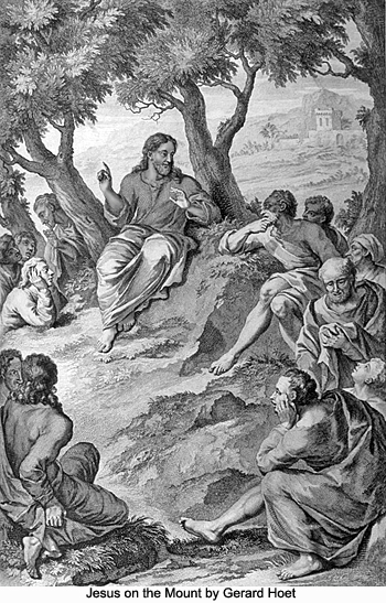 Jesus on the Mount by Gerard Hoet